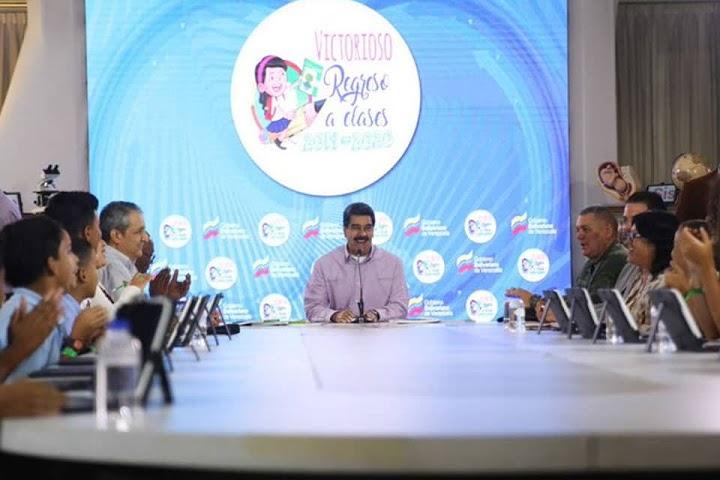 Nicolás Maduro dio Avances