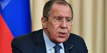 Ministro de Relaciones Exteriores de Rusia Lavrov