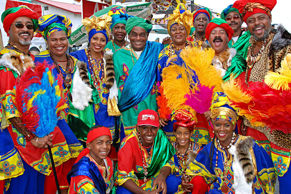 Carnival in Curaçao, Willemstad, Netherland Antilles.