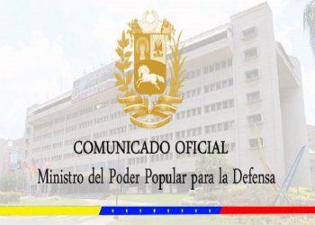 COMUNICADO   FANB neutraliza tres campamentos en Apure dedicados a la extorsión y narcotráfico