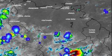 Lunes con abundante nubosidad y precipitaciones en gran parte del país