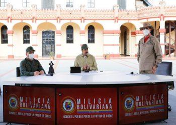Más de los 4 millones 500 mil efectivos de la Milicia Nacional Bolivariana están desplegados en Venezuela