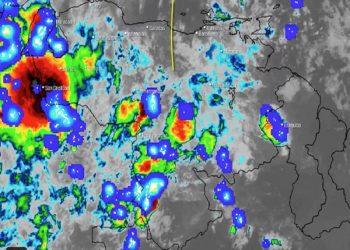 Inameh pronostica para este viernes abundante nubosidad e intensas lluvias en gran parte del país