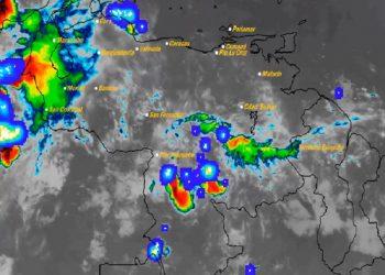 Para este viernes pronostican áreas nubladas con descargas eléctricas en varias regiones del país