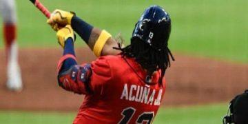 Ronald Acuña Jr. despachó el jonrón más largo de la temporada