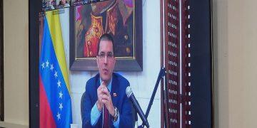 Canciller Arreaza denuncia ataque multiforme y multidimensional de EEUU contra Venezuela