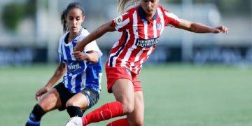 Deyna Castellanos y Oriana Altuve anotaron goles en jornada de fin de semana del fútbol español