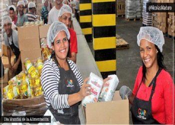 Venezuela garantiza alimentación al pueblo en medio del bloqueo
