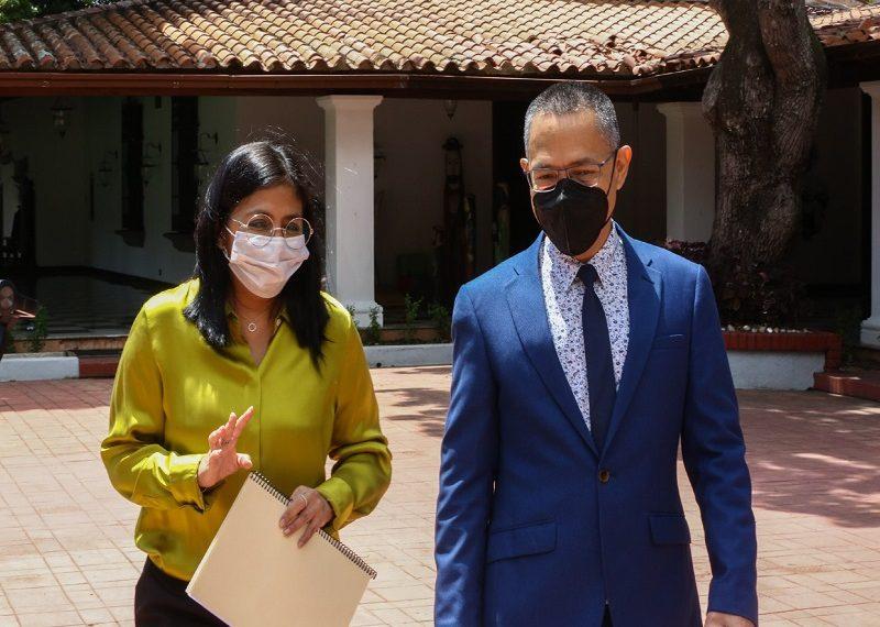 Delcy Rodríguez: Plan 7+7 nos ha permitido tener el control sobre la pandemia en Venezuela