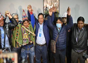 Presidente Nicolás Maduro felicitó a Luis Arce por su triunfo electoral en Bolivia