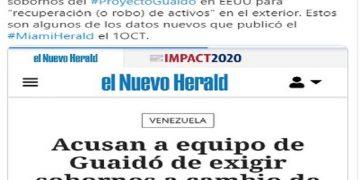 Investigación La Tabla   Guaidó intentó apropiarse de $ 20.000 millones de inversiones de Petrocaribe