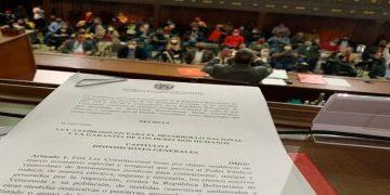 ANC tiene el derecho de dotar al Ejecutivo de medidas jurídicas para defender al pueblo