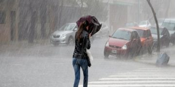 Se prevén para este jueves lluvias intensas en gran parte del país
