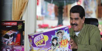 Presidente Maduro anuncia la entrega de 10 millones de juguetes para temporada navideña