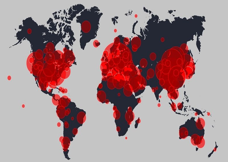 53.217.519 casos de Covid-19 se han registrado a escala mundial