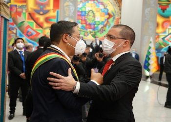 Estados venezolanos recupera sede diplomática en la capital de Bolivia La Paz