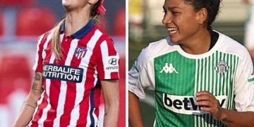 Deyna Castellanos y Oriana Altuve chocan este domingo en la Liga española