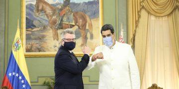 Embajadores de Belarús e Indonesia entregan Cartas Credenciales al Presidente Nicolás Maduro