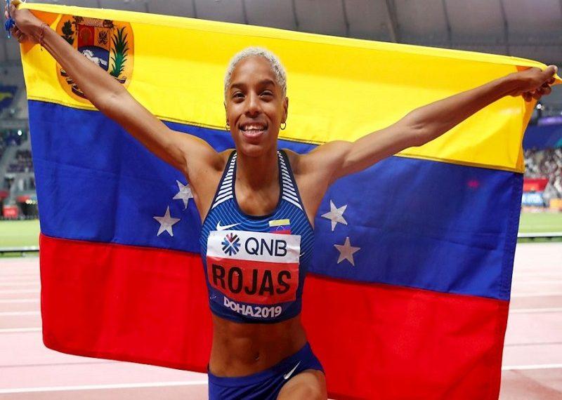Yulimar Rojas figura entre las cinco mejores atletas del año
