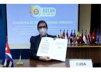 Cuba ingresa al Tratado de Amistad y Cooperación con Asean