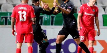 Yangel Herrera guió triunfo del Granada ante el Nicosia en la Liga de Europa