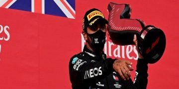 Hamilton vence en Imola y Mercedes gana el título de constructores por séptima vez consecutiva