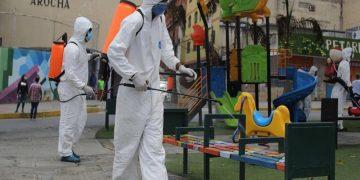 Realizadas 3.888.000 labores de desinfección contra el Covid-19 en todo el territorio nacional