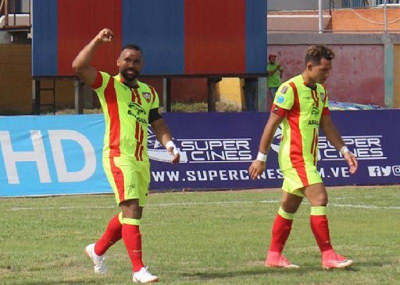 Aragua asciende al tercer lugar del grupo B de la Liga Futve tras vencer 2-1 a Portuguesa