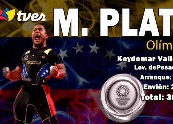 Medalla de Plata Keydomar Vallenilla